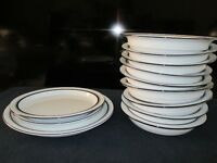 Dansk Bistro Christianshavn Blue Dinnerware - 12 Pieces