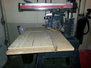 "Craftsman 10"" Radial Arm Saw with Stand"