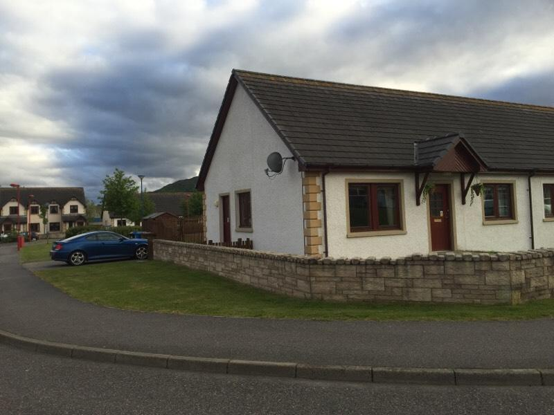 two bedroom immaculate house for rent aviemore in aviemore