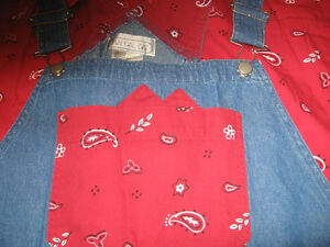 LADIES BIB OVERALS WITH MATCHING CUFFS AND SHIRT 2XL Kingston Kingston Area image 5