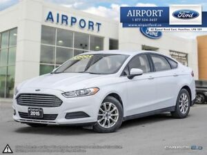 2015 Ford Fusion S FWD 2.5L with only 72,844 kms