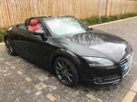 2008 08 Black Audi TT 2.0 TFSI Roadster Exclusive Line
