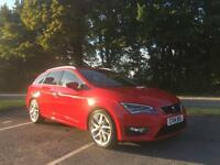 Seat Leon 2.0TDI CR ( 184ps ) Sports Tourer 2014 FR Tech Pack finance available