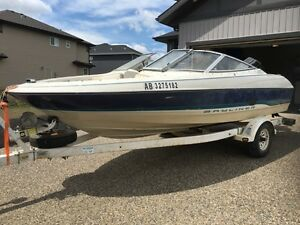 Late 90's Bayliner Open Bow 120 hp Mercury Force