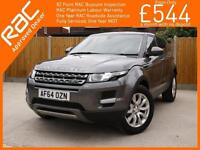 2014 Land Rover Range Rover Evoque 2.2 SD4 Turbo Diesel 190 BHP Pure Tech 4x4 4W