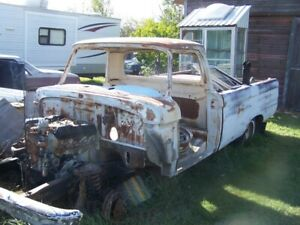 1965 Ford 1/2 Ton Body & Frame