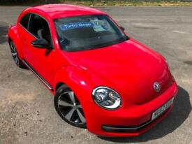 VW BEETLE 2.0TDI SPORT DIESEL £38 WEEK NO DEPOSIT BLUETOOTH CRUISE MP3 2012