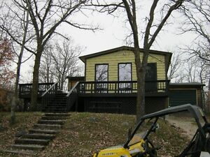 Gull Lake cottage for  rent Lake view