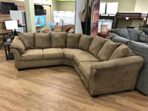 CASH & CARRY - ASHLEY SECTIONAL