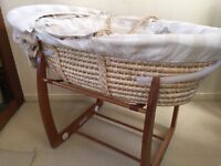Mamas and Papas Rocker Stand With Basket.