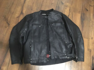 Joe Rocket XXL leather motorcycle jacket