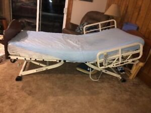 Single Powered hospital bed with remote