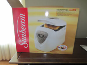 Sunbeam Breadmaker - Seldom Used - Bargain Price