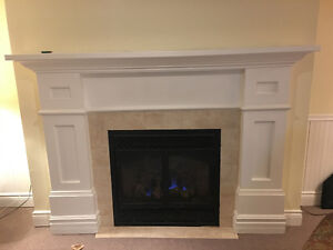 LARGE OVER SIZED FIRE PLACE MANTEL