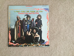 Country Joe and the Fish I Feel Like I'm Fixin To Die 33 1/3 RPM