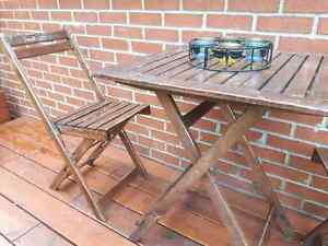 FREE Patio table + 2 chairs