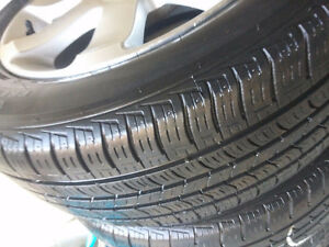 Nissan Sentra Altima Mags and Tire 205-55-16 Bolt 4 X 114.3