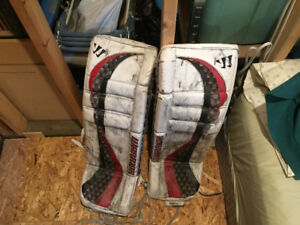 Goalie equipment- first to come get it