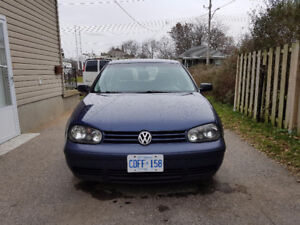 Volkswagen golf tdi loaded