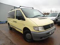 MERCEDES-BENZ VITO 110 2.2 CDI YELLOW VAN