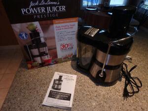 Power Juicer – Jack LaLanne's Prestige Model