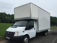 2013 Ford Transit 350 3.5T Lwb 14ft Removal Dropwell Luton Sprinter Size