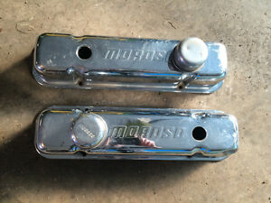 Pontiac Moroso Chrome Tall Valve Covers 389 400 455  Tall