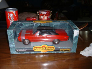 AMERICAN MUSCLE - ERTL- '67 CHEVELLE L-78 - RED HOTT