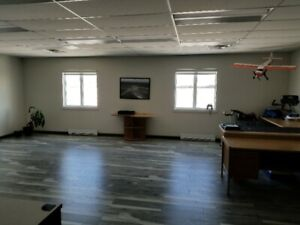 office space for lease at Miramichi Airport.