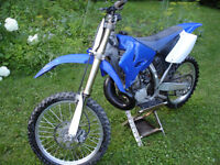2008 Yamaha YZ250 with new top end