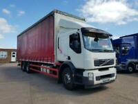 Volvo FE 300, 2013, 30ft 10inch curtainsider body, sleeper cab, 26 ton,