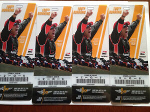2016 Indy 500 - 4 amazing seats together C$395 each