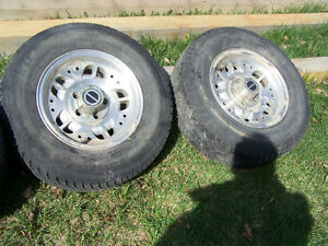 Ranger rims and tires 5 x 114.3 pattern Strathcona County Edmonton Area image 2