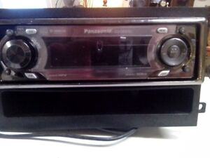 pnasonic car stereo with two speakers