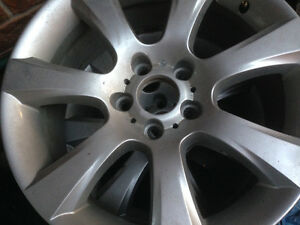 BMW winter rims Kitchener / Waterloo Kitchener Area image 1
