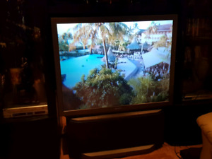 "53"" SONY TV projector with remote"