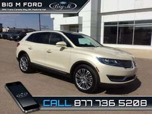2016 Lincoln MKX Reserve   - one owner - local - trade-in - non-