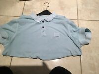 Hugo boss orange tshirt baby blue