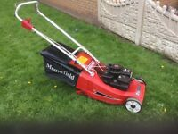 LAWN MOWER SELF PROPELLED REAR ROLLER £145