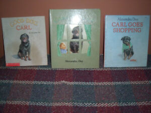 Children's  books by Alexandra Day - collectables  (see E-Bay)