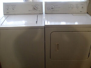 Kenmore Heavy duty, Super Capacity plus, washer and dryer