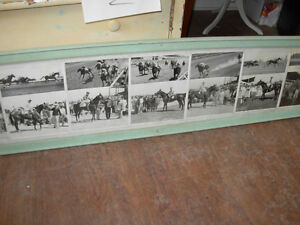 1959-60 Collage of B&W Fort Erie Horse Racing Cambridge Kitchener Area image 2