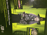 Life size interactive witch