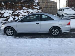 2005 Honda Civic New MVI