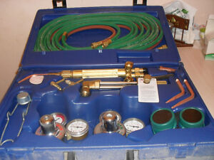 Harris Oxy- acetylene  Welding/cutting kit.(PRICE DROP)