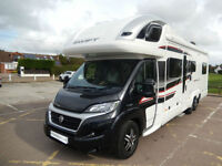 Swift Kontiki 649 Black Edition 6 Berth U Shape Lounge Motorhome For Sale