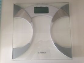 Salter Silver Ultra Slim Glass Scales