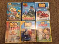 6 Bob the Builder DVDs