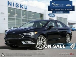 2017 Ford Fusion Platinum  - Leather Seats