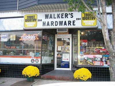 Walkers Hardware and Trains